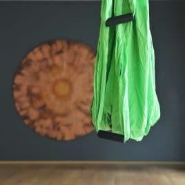 Yeşil Swing Yoga Ekipmanı